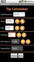 Screenshot of Another Tip Calculator