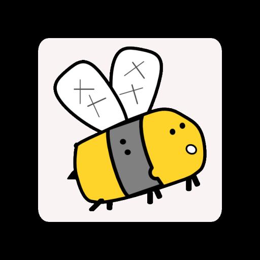 勇敢的小蜜蜂 LOGO-APP點子
