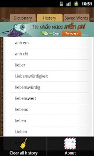 Dictionary German Vietnamese- screenshot thumbnail