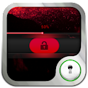 Go Locker Simple Red Slide logo