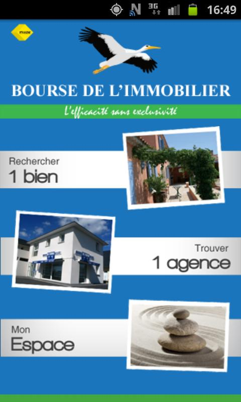 Bourse de l'Immobilier - screenshot