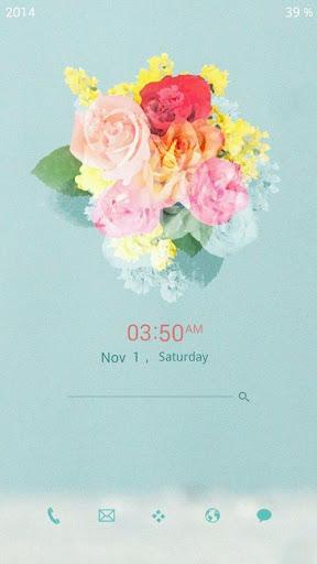 빈티지 꽃 버즈런처 테마 홈팩