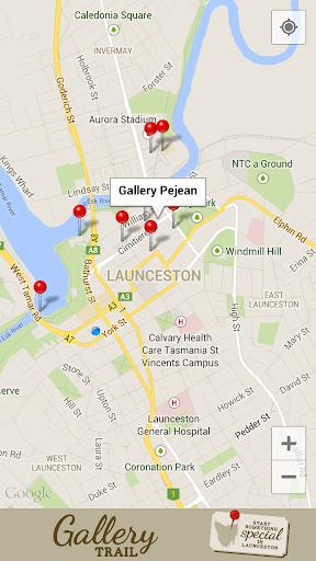 Gallery Trail Launceston