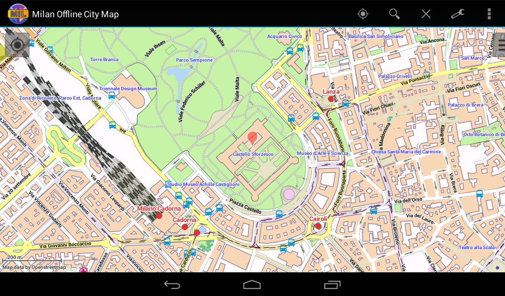 Milan Offline City Map Android Apps on Google Play – Milan Tourist Map