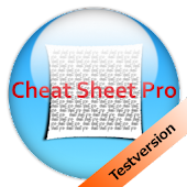 cheat sheet (crib) testversion