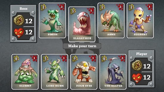 Monster Dungeon Free Card Game- screenshot thumbnail
