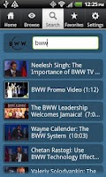 Screenshot of BWW TV