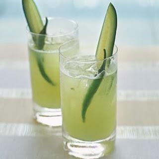 Cucumber and Chili Agua Fresca