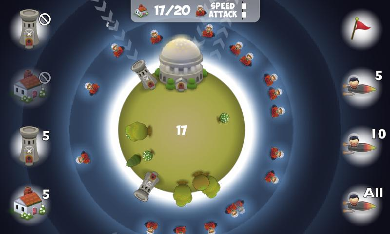 Planet Wars Lite - screenshot
