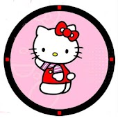 Pink Hello Kitty Inspire Clock
