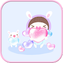 Bebe heart go lokcer theme icon