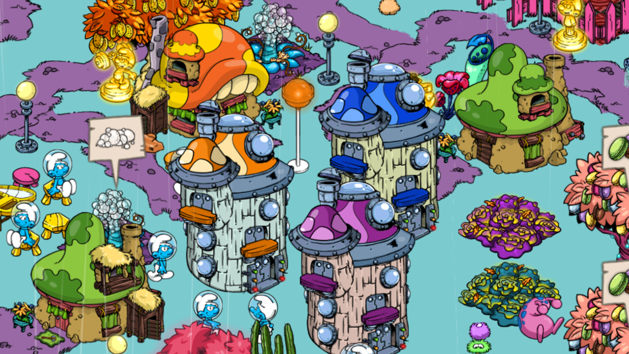 Smurfs' Village - screenshot