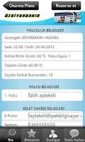 Screenshot of Özdiyarbakır Turizm