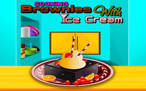 Cooking Brownies with IceCream