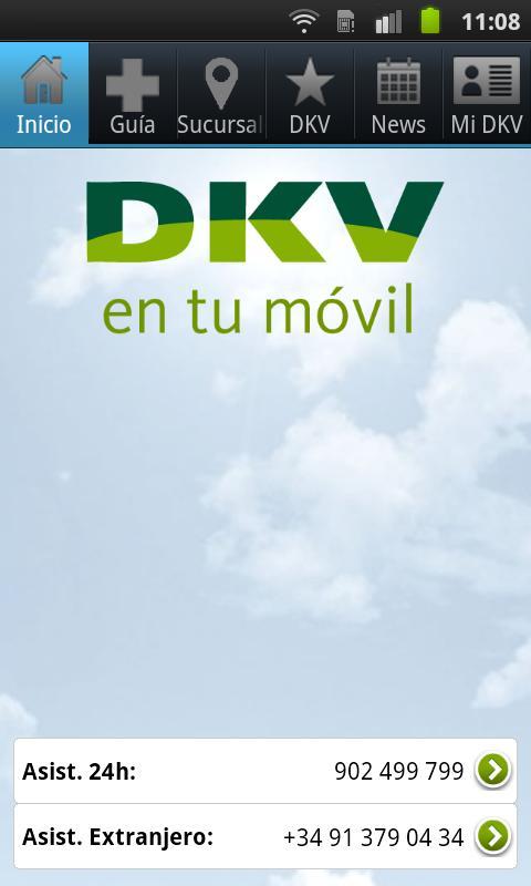 Guía de Médicos. DKV Seguros.- screenshot