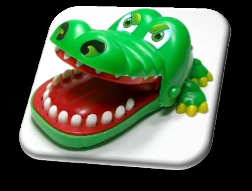 忽略鱷魚輪盤遊戲