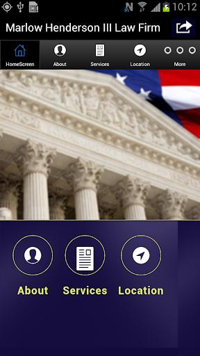 Marlow Henderson III Law Firm