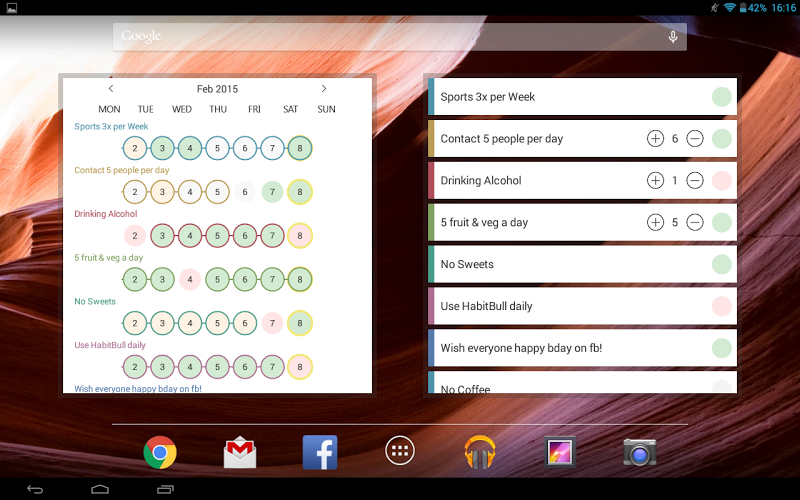 Habit Tracker Screenshot 12