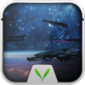 Space Warship Live LockerTheme