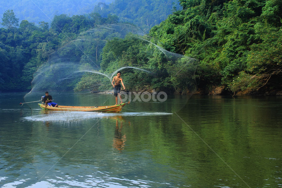 Fisherman by R Siswanty - People Professional People