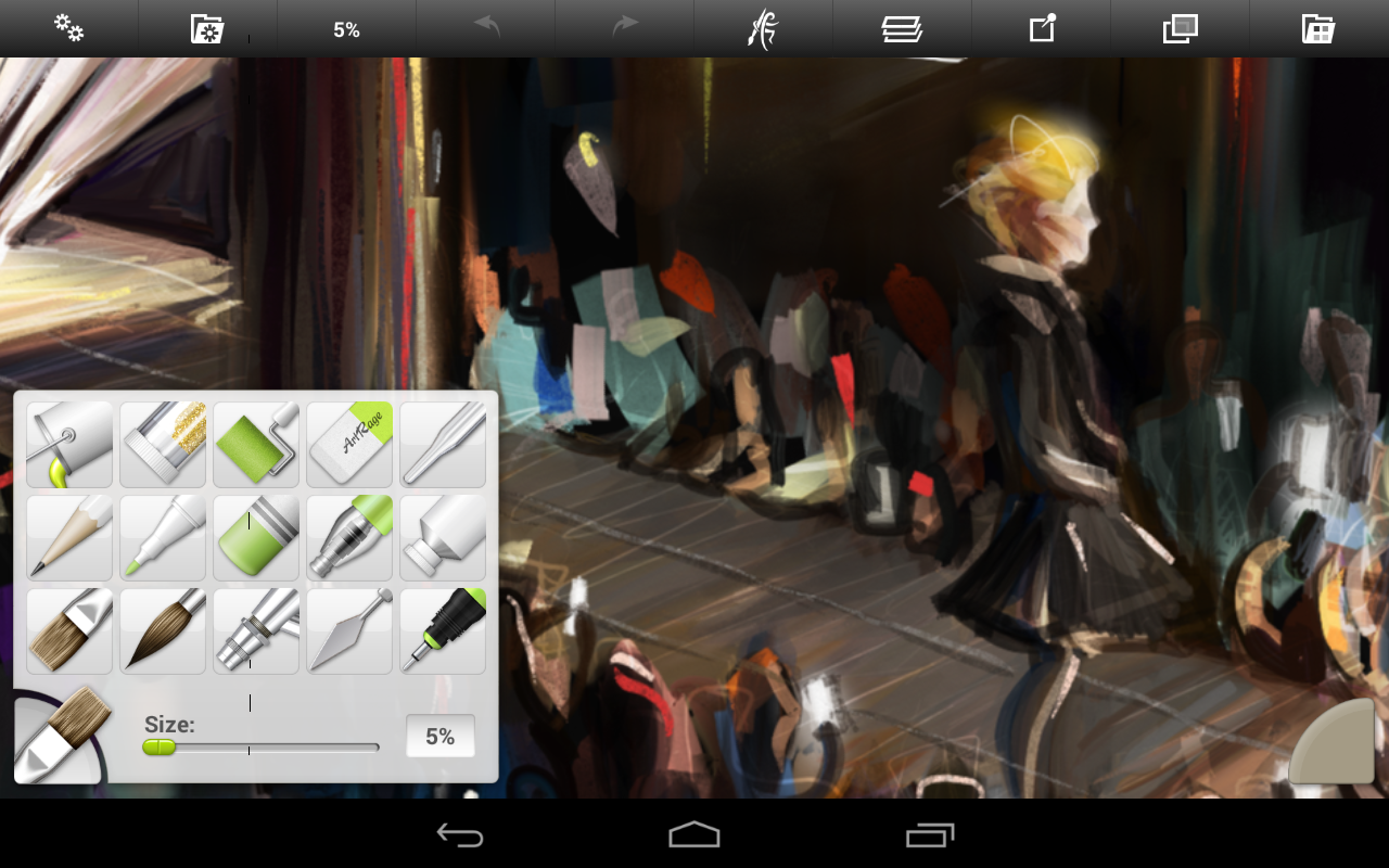 ArtRage: Draw, Paint, Create: captura de pantalla