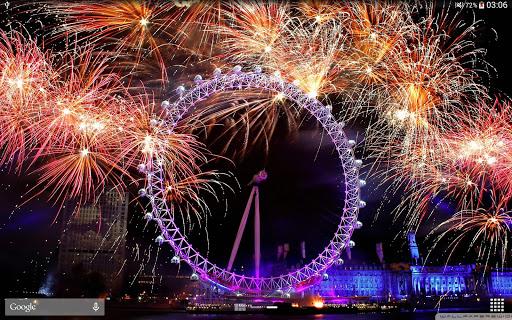 New Year Fireworks LWP (PRO) 1.3.1 screenshots 12
