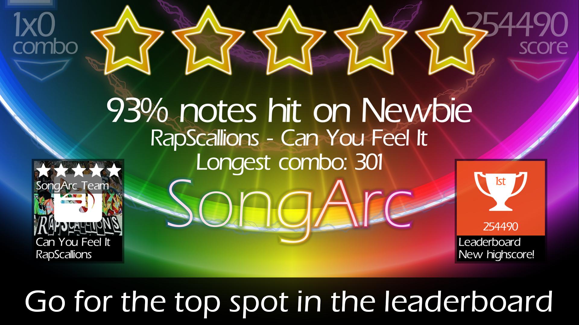 SongArc screenshot #4
