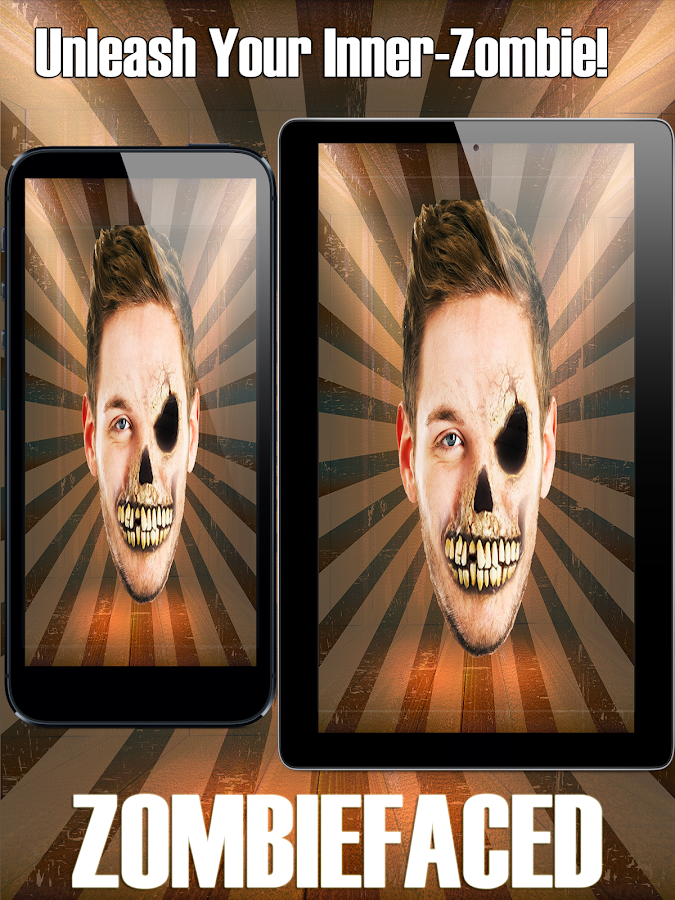 ZombieFaced Pro Zombie Booth- screenshot