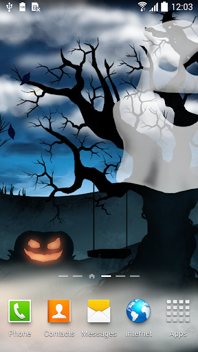 Halloween Night Live Wallpaper