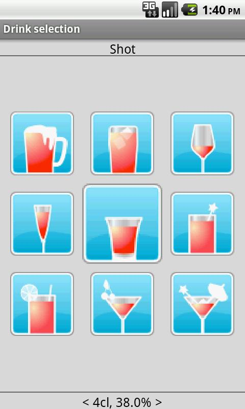 DrinkLess - screenshot