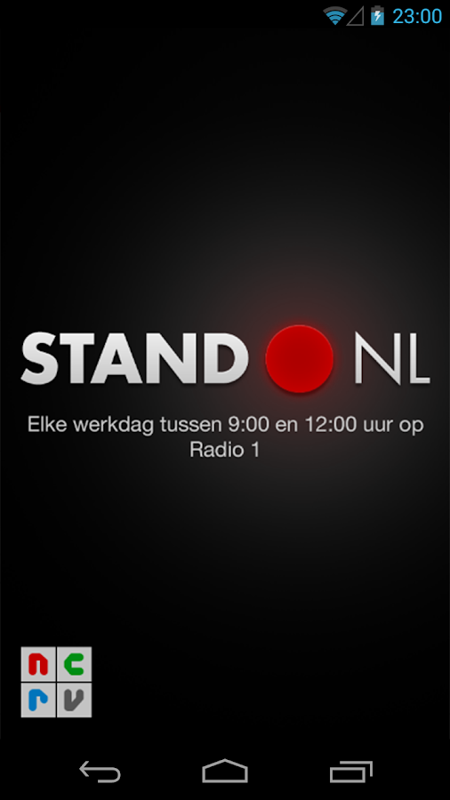Stand.NL - screenshot