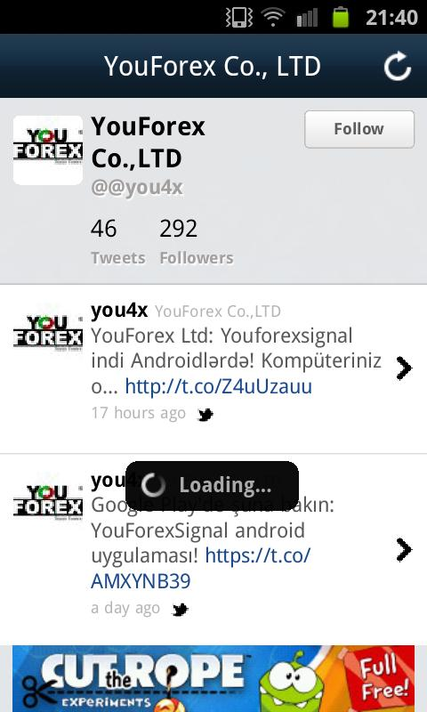 You Forex Signal - screenshot