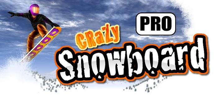 Crazy Snowboard Pro - скачать лучший сноуборд для android