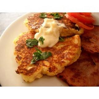 Mountain Mama's Potato Pancakes.