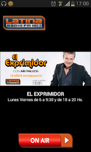 Radio Latina 101.1- screenshot thumbnail