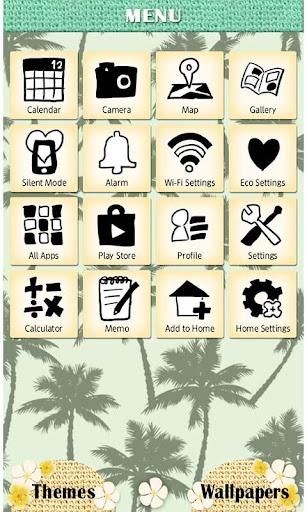 Summer Theme-Summer Palms- 1.1 Windows u7528 3