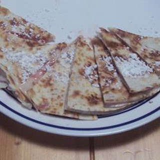 Strawberry Cheesecake Quesadillas.