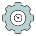 Androidlet Clock Widget icon