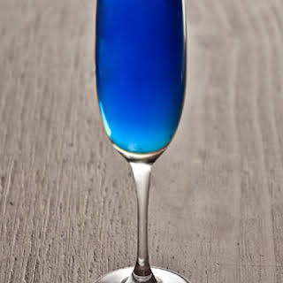 Blue Champagne Drink Recipes.