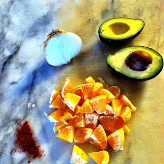 Smokey Orange and Avocado Salad Recipe