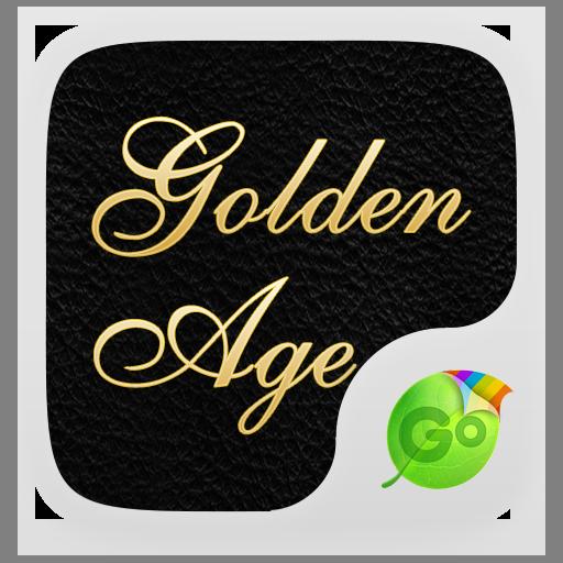 个人化のGO Keyboard Golden Age Theme LOGO-記事Game