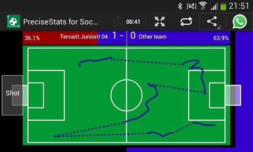 PreciseStats for Soccer