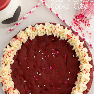 Red Velvet Cookie Cake.