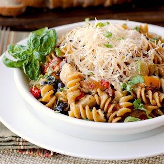 Mediterranean Chicken Pasta.