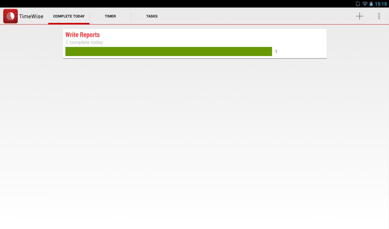 TimeWise: A Pomodoro Timer- screenshot