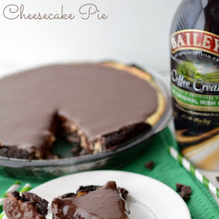 Bailey's Irish Creamer Cheesecake Pie