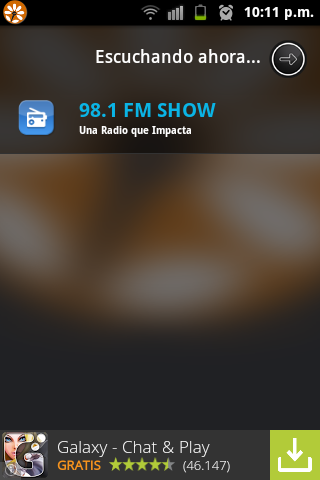 98.1 FM Show- screenshot