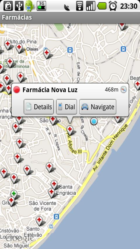 Farmácias - screenshot