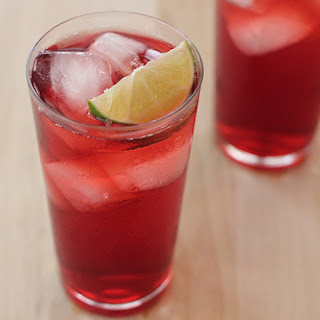 Hibiscus Green Tea Soda.