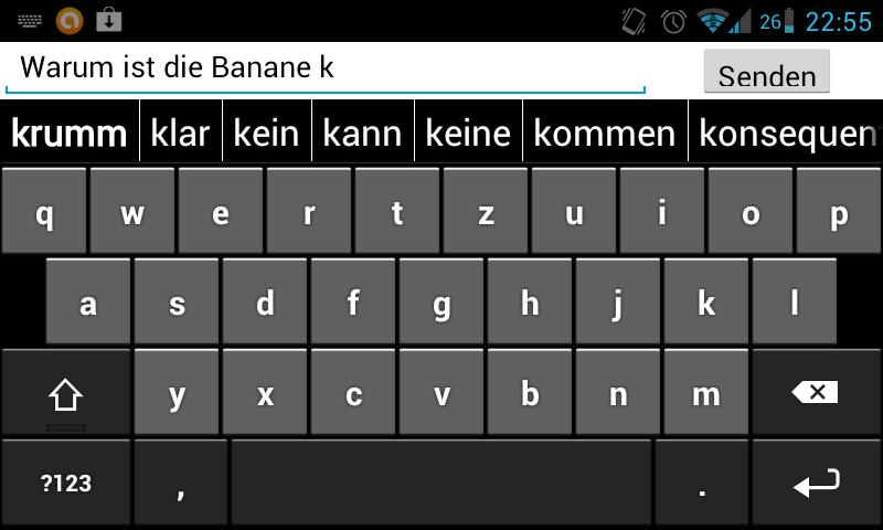 TypologyKeyboard (beta)- screenshot